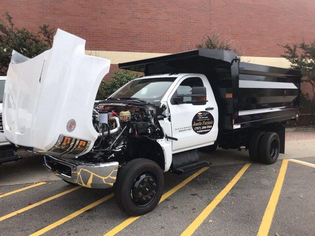2019 Silverado Medium Duty Regular Cab DRW 4x4,  Rugby Landscape Dump #CN91019 - photo 26