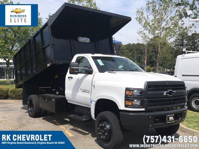 2019 Silverado 4500 Regular Cab DRW 4x4, Cab Chassis #CN91021 - photo 1