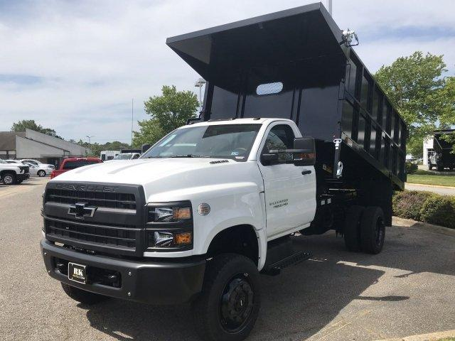 2019 Silverado 4500 Regular Cab DRW 4x4, Johnie Gregory Truck Bodies, Inc. Landscape Dump #CN91021 - photo 5
