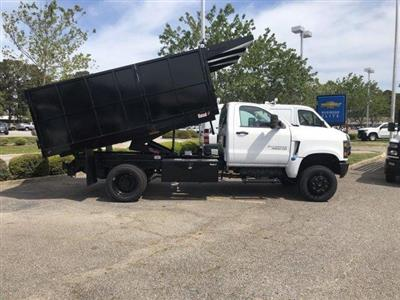 2019 Silverado 4500 Regular Cab DRW 4x4, Johnie Gregory Truck Bodies, Inc. Landscape Dump #CN91021 - photo 8