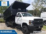 2019 Silverado 4500 Regular Cab DRW 4x4, Johnie Gregory Truck Bodies, Inc. Landscape Dump #CN91021 - photo 1