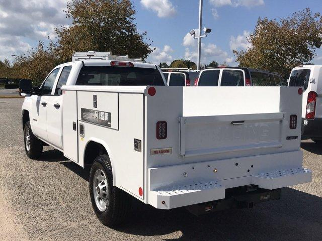 2019 Silverado 2500 Double Cab 4x2,  Reading Classic II Steel Service Body #CN91052 - photo 5