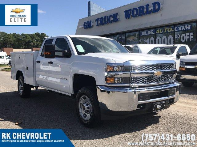2019 Silverado 2500 Double Cab 4x2,  Reading Service Body #CN91186 - photo 1