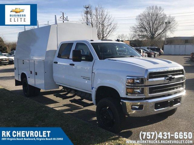 2019 Silverado Medium Duty Crew Cab DRW 4x4,  Cab Chassis #CN91282 - photo 1