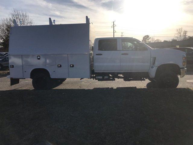 2019 Silverado Medium Duty Crew Cab DRW 4x4, Cab Chassis #CN91282 - photo 8