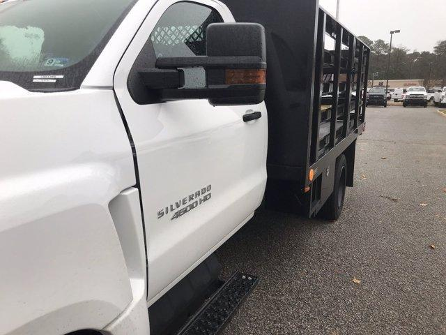 2019 Silverado 4500 Regular Cab DRW 4x2, Quality Truck Bodies & Repair Stake Bed #CN91285 - photo 10