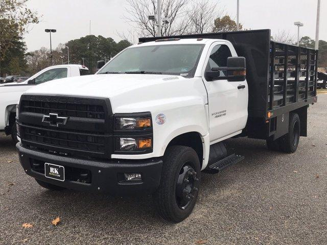 2019 Silverado 4500 Regular Cab DRW 4x2, Quality Truck Bodies & Repair Stake Bed #CN91285 - photo 5