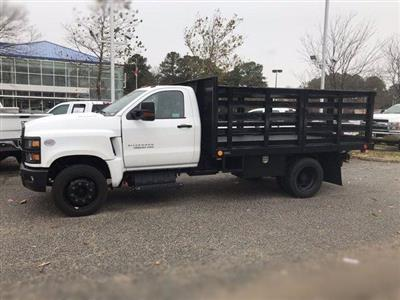 2019 Silverado 4500 Regular Cab DRW 4x2, Quality Truck Bodies & Repair Stake Bed #CN91285 - photo 6