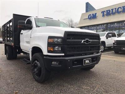 2019 Silverado 4500 Regular Cab DRW 4x2, Quality Truck Bodies & Repair Stake Bed #CN91285 - photo 9