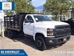 2019 Chevrolet Silverado 4500 Regular Cab DRW 4x2, Quality Truck Bodies & Repair Stake Bed #CN91285 - photo 1