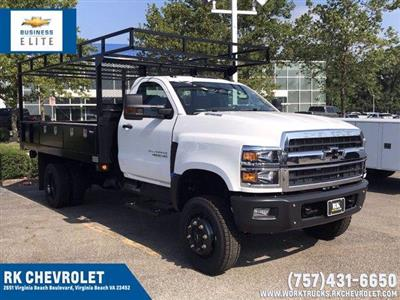 2019 Chevrolet Silverado 4500 Regular Cab DRW 4x4, Johnie Gregory Truck Bodies, Inc. Johnie Gregory Truck Bodies Default Contractor Body #CN91286 - photo 1