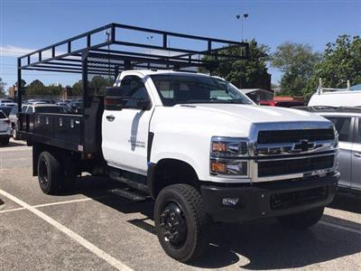 2019 Chevrolet Silverado 4500 Regular Cab DRW 4x4, Johnie Gregory Truck Bodies, Inc. Johnie Gregory Truck Bodies Default Contractor Body #CN91286 - photo 4