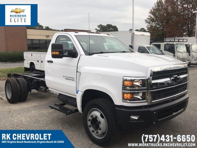 2019 Silverado 5500 Regular Cab DRW 4x2, Cab Chassis #CN91289 - photo 1