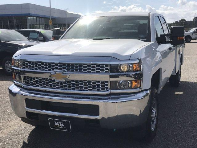 2019 Silverado 2500 Double Cab 4x2,  Reading SL Service Body #CN91291 - photo 11