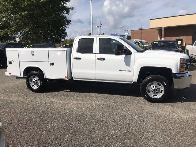 2019 Silverado 2500 Double Cab 4x2,  Reading SL Service Body #CN91291 - photo 8