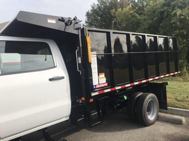 2019 Silverado Medium Duty Crew Cab DRW 4x4, Morgan LandscaperPRO Landscape Dump #CN91345 - photo 19