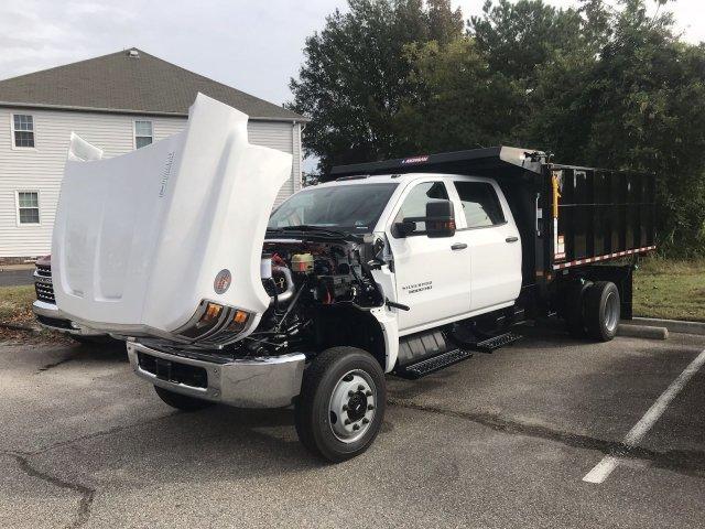 2019 Silverado Medium Duty Crew Cab DRW 4x4, Morgan LandscaperPRO Landscape Dump #CN91345 - photo 30