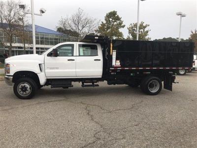2019 Silverado Medium Duty Crew Cab DRW 4x4, Morgan LandscaperPRO Landscape Dump #CN91345 - photo 7