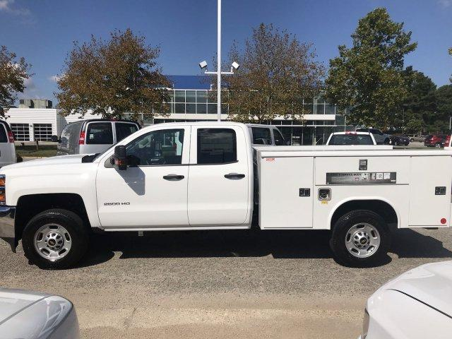 2019 Silverado 2500 Double Cab 4x2,  Reading Service Body #CN91347 - photo 1