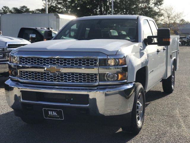 2019 Silverado 2500 Double Cab 4x2,  Reading SL Service Body #CN91374 - photo 10