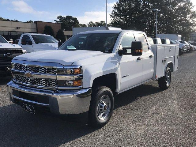2019 Silverado 2500 Double Cab 4x2,  Reading SL Service Body #CN91374 - photo 4