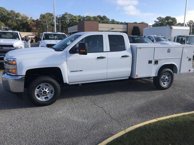 2019 Silverado 2500 Double Cab 4x2,  Reading SL Service Body #CN91374 - photo 5