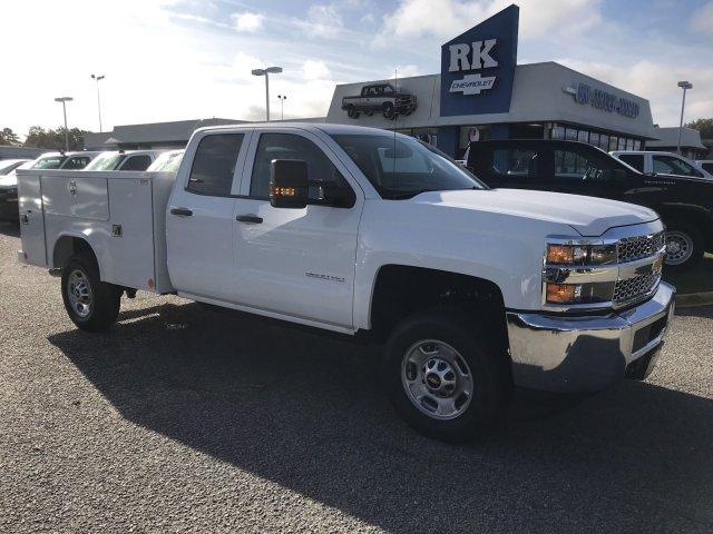 2019 Silverado 2500 Double Cab 4x2,  Reading SL Service Body #CN91374 - photo 8