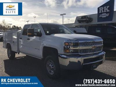 2019 Silverado 2500 Double Cab 4x2,  Reading SL Service Body #CN91374 - photo 1