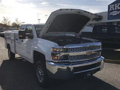 2019 Silverado 2500 Double Cab 4x2,  Reading SL Service Body #CN91374 - photo 39