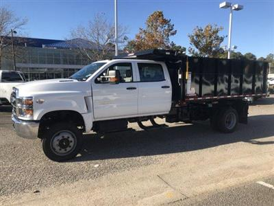 2019 Silverado 5500 Crew Cab DRW 4x4, Morgan Landscape Dump #CN91375 - photo 5