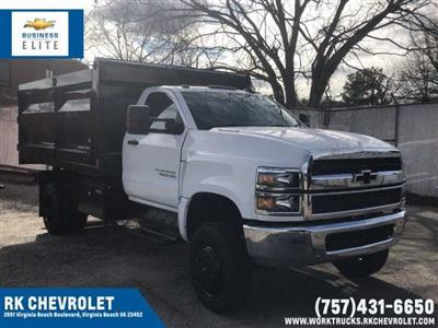 2019 Silverado 5500 Regular Cab DRW 4x4, Rugby Landscape Dump #CN91906 - photo 1