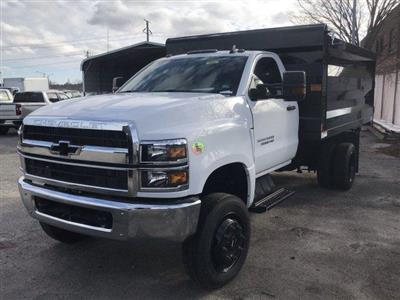 2019 Silverado 5500 Regular Cab DRW 4x4, Rugby Landscape Dump #CN91906 - photo 4