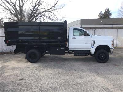 2019 Silverado 5500 Regular Cab DRW 4x4, Rugby Landscape Dump #CN91906 - photo 8