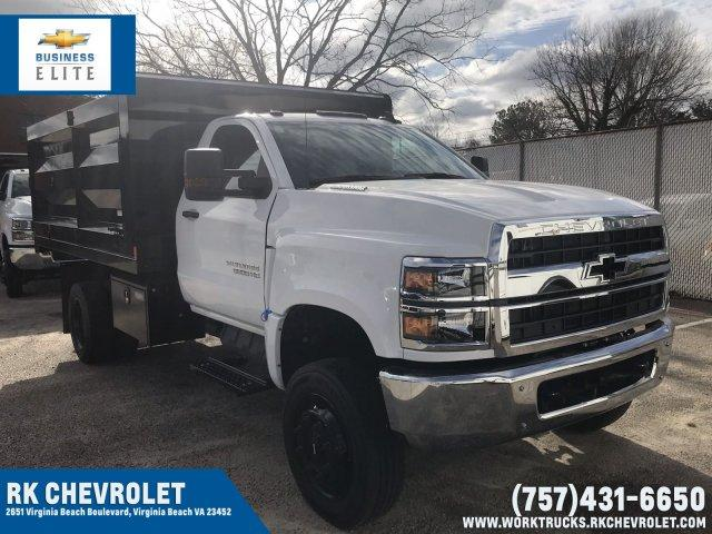 2019 Silverado 5500 Regular Cab DRW 4x4, Rugby Landscape Dump #CN92230 - photo 1