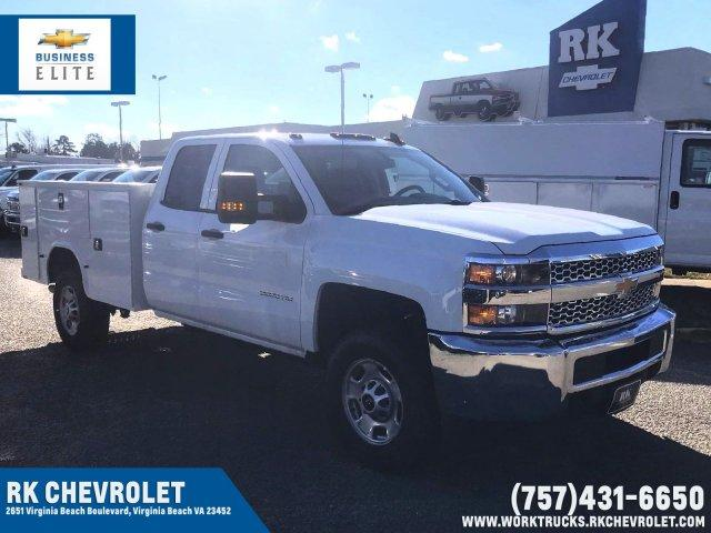 2019 Silverado 2500 Double Cab 4x4, Knapheide Service Body #CN92231 - photo 1