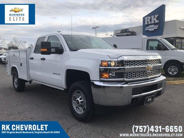 2019 Silverado 2500 Double Cab 4x4, Reading Service Body #CN92232 - photo 1
