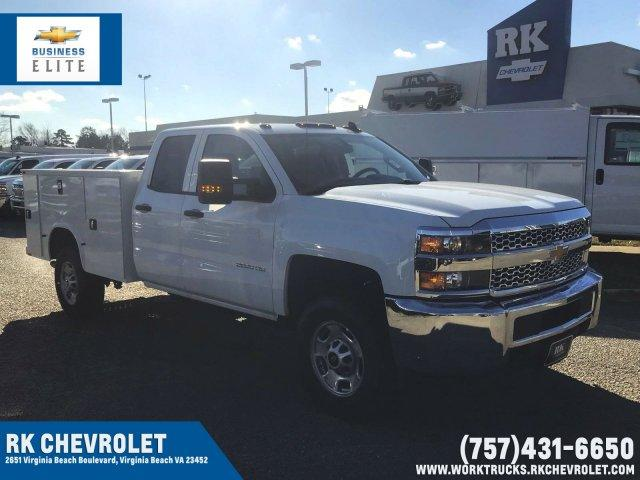 2019 Silverado 2500 Double Cab 4x4, Knapheide Service Body #CN92240 - photo 1