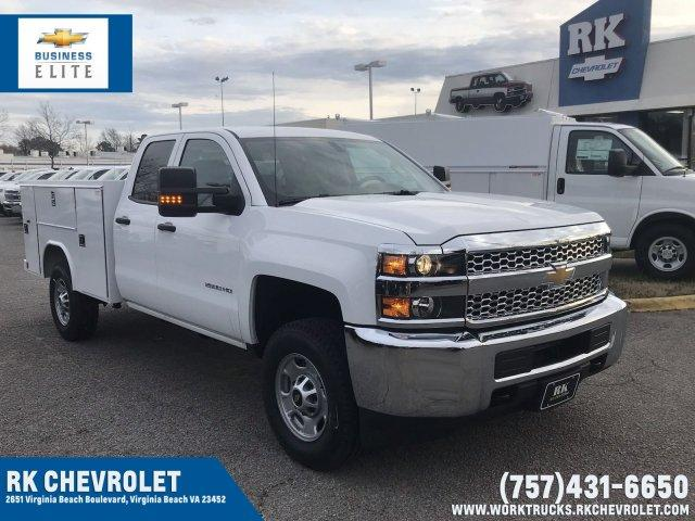 2019 Silverado 2500 Double Cab 4x4, Reading Service Body #CN92334 - photo 1