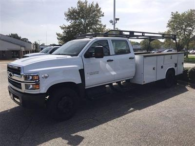 2019 Chevrolet Silverado 5500 Crew Cab DRW 4x2, Reading SL Service Body #CN92756 - photo 5
