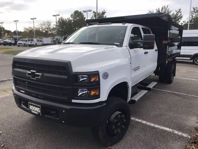 2019 Chevrolet Silverado Medium Duty Crew Cab DRW 4x4, Rugby Landscape Dump #CN93314 - photo 3