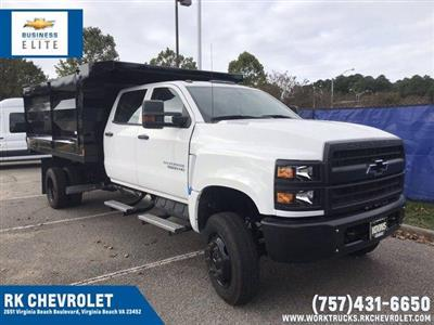 2019 Chevrolet Silverado Medium Duty Crew Cab DRW 4x4, Rugby Landscape Dump #CN93314 - photo 1