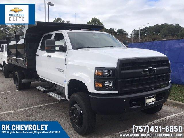 2019 Chevrolet Silverado Medium Duty Crew Cab DRW 4x4, Rugby Landscape Dump #CN93316 - photo 1