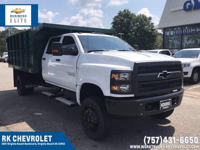 2019 Chevrolet Silverado Medium Duty Crew Cab DRW 4x4, Johnie Gregory Truck Bodies, Inc. Landscape Dump #CN93317 - photo 1