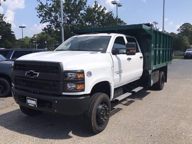 2019 Chevrolet Silverado Medium Duty Crew Cab DRW 4x4, Johnie Gregory Truck Bodies, Inc. Landscape Dump #CN93317 - photo 4