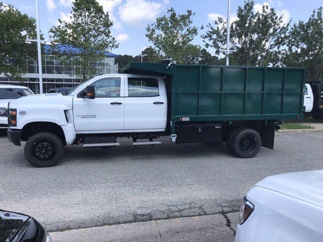 2019 Chevrolet Silverado Medium Duty Crew Cab DRW 4x4, Johnie Gregory Truck Bodies, Inc. Landscape Dump #CN93317 - photo 5