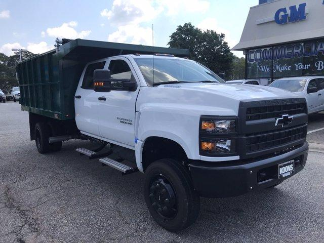 2019 Chevrolet Silverado Medium Duty Crew Cab DRW 4x4, Johnie Gregory Truck Bodies, Inc. Landscape Dump #CN93317 - photo 8