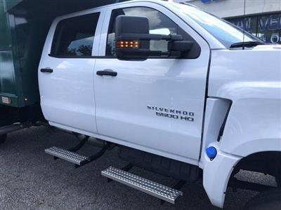 2019 Chevrolet Silverado Medium Duty Crew Cab DRW 4x4, Johnie Gregory Truck Bodies, Inc. Landscape Dump #CN93317 - photo 9