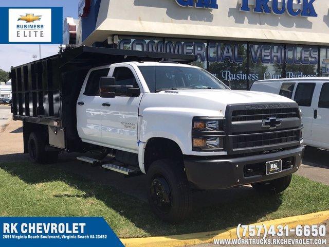 2019 Chevrolet Silverado Medium Duty Crew Cab DRW 4x4, Johnie Gregory Truck Bodies, Inc. Landscape Dump #CN93320 - photo 1