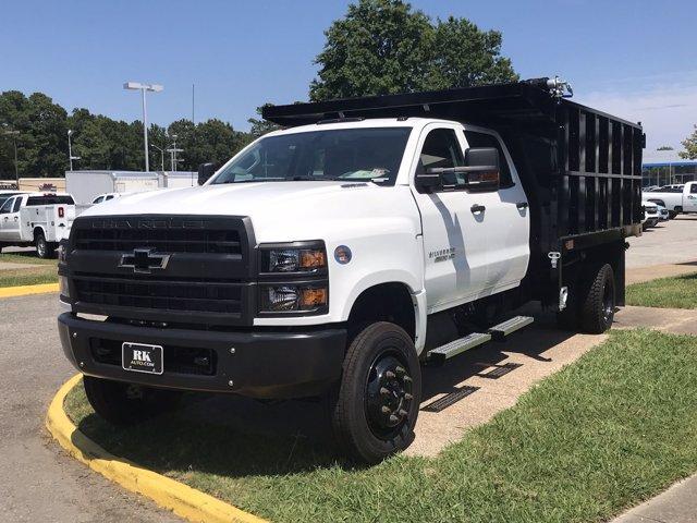 2019 Chevrolet Silverado Medium Duty Crew Cab DRW 4x4, Johnie Gregory Truck Bodies, Inc. Landscape Dump #CN93320 - photo 4