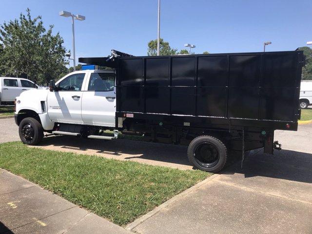 2019 Chevrolet Silverado Medium Duty Crew Cab DRW 4x4, Johnie Gregory Truck Bodies, Inc. Landscape Dump #CN93320 - photo 5